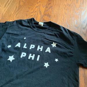 Tops - alpha phi star shirt